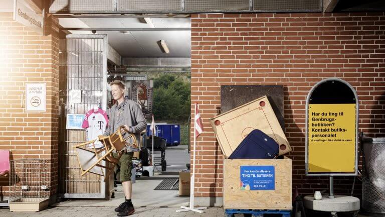 Genbrugsbutikker – LUKKET