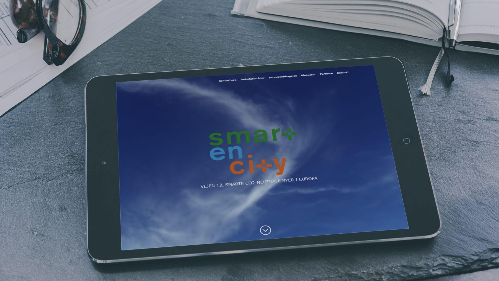 SmartEnCity screenshot mockup