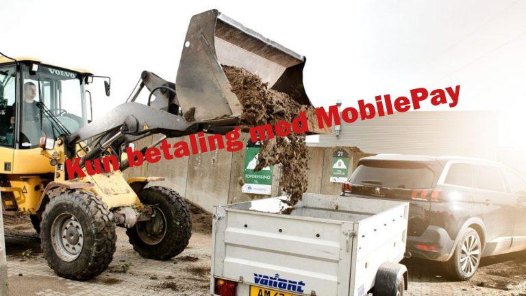 Køb kompost – kun med MobilePay