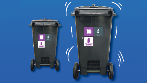 Har du brug for mere plads til genbrugsaffald?